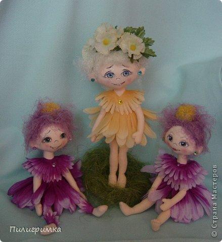 Куклы Мастер-класс Шитьё   Цветики Мини-МК Ткань фото 1