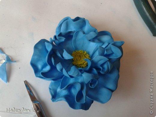 Мастер-класс Украшение Моделирование конструирование цветок из фома с самого начала Фоамиран фом фото 19