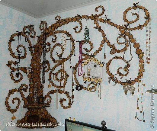 Интерьер Выпиливание Держатель для украшений + элемент декора Дерево фото 1
