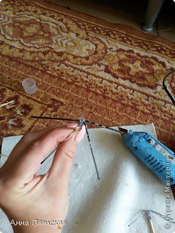 Картина панно рисунок Мастер-класс Моделирование конструирование Мой зонтичный триптих  Бусинки Диски компьютерные Кружево Материал природный Шпагат фото 19