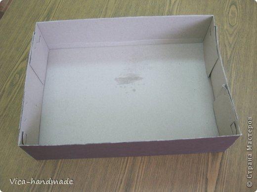 Декор предметов Мастер-класс День рождения Аппликация МК Как обтянуть коробку тканью Два варианта Бумага Картон Ленты Ткань фото 3