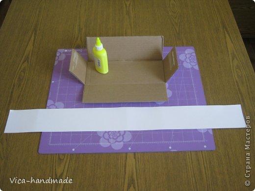 Декор предметов Мастер-класс День рождения Аппликация МК Как обтянуть коробку тканью Два варианта Бумага Картон Ленты Ткань фото 97