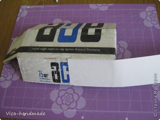 Декор предметов Мастер-класс День рождения Аппликация МК Как обтянуть коробку тканью Два варианта Бумага Картон Ленты Ткань фото 98