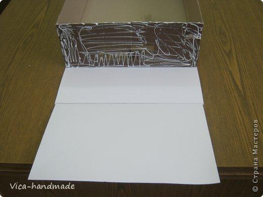 Декор предметов Мастер-класс День рождения Аппликация МК Как обтянуть коробку тканью Два варианта Бумага Картон Ленты Ткань фото 15