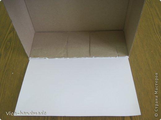 Декор предметов Мастер-класс День рождения Аппликация МК Как обтянуть коробку тканью Два варианта Бумага Картон Ленты Ткань фото 16