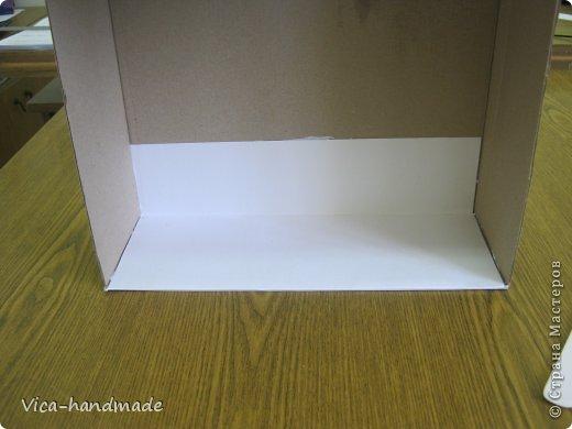 Декор предметов Мастер-класс День рождения Аппликация МК Как обтянуть коробку тканью Два варианта Бумага Картон Ленты Ткань фото 19