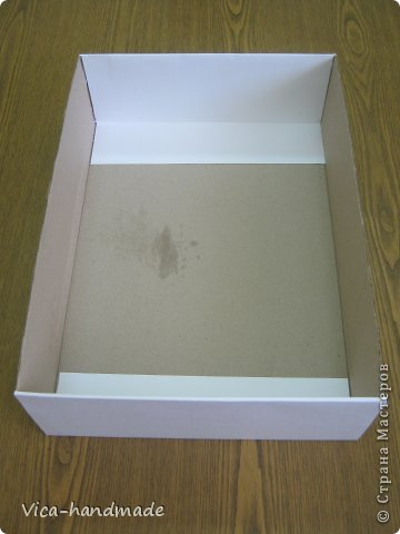 Декор предметов Мастер-класс День рождения Аппликация МК Как обтянуть коробку тканью Два варианта Бумага Картон Ленты Ткань фото 20