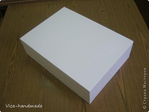 Декор предметов Мастер-класс День рождения Аппликация МК Как обтянуть коробку тканью Два варианта Бумага Картон Ленты Ткань фото 22