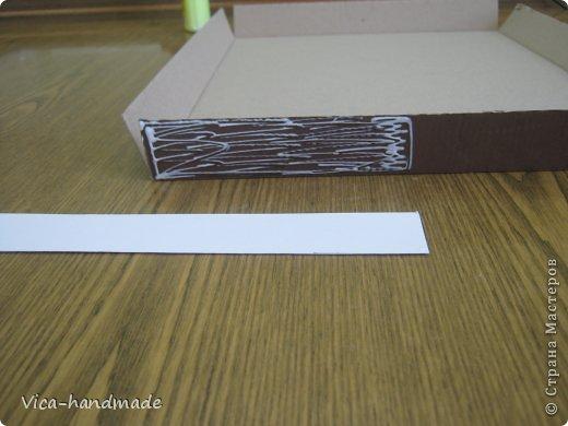 Декор предметов Мастер-класс День рождения Аппликация МК Как обтянуть коробку тканью Два варианта Бумага Картон Ленты Ткань фото 28