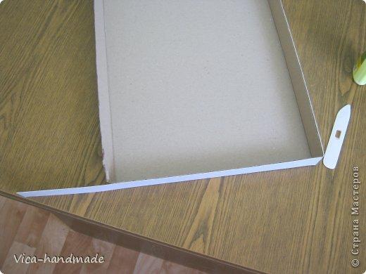 Декор предметов Мастер-класс День рождения Аппликация МК Как обтянуть коробку тканью Два варианта Бумага Картон Ленты Ткань фото 30