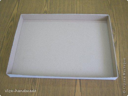 Декор предметов Мастер-класс День рождения Аппликация МК Как обтянуть коробку тканью Два варианта Бумага Картон Ленты Ткань фото 32