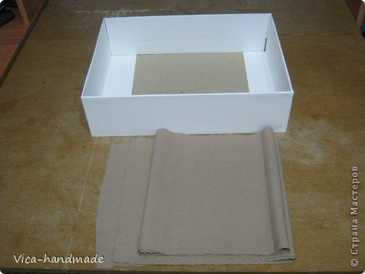 Декор предметов Мастер-класс День рождения Аппликация МК Как обтянуть коробку тканью Два варианта Бумага Картон Ленты Ткань фото 35