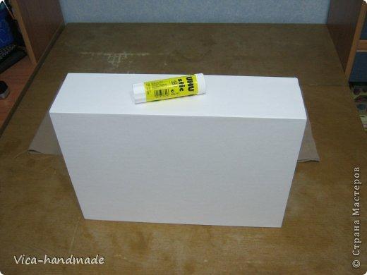Декор предметов Мастер-класс День рождения Аппликация МК Как обтянуть коробку тканью Два варианта Бумага Картон Ленты Ткань фото 40