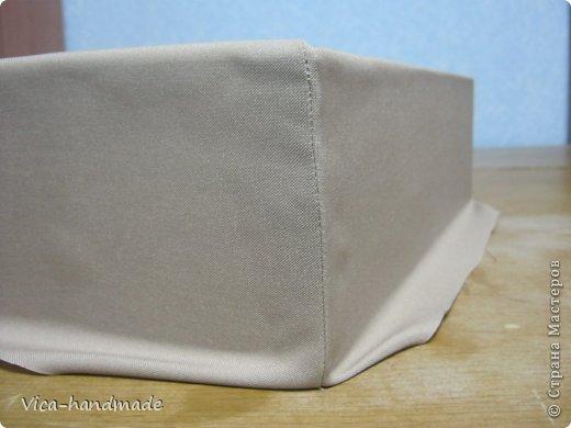 Декор предметов Мастер-класс День рождения Аппликация МК Как обтянуть коробку тканью Два варианта Бумага Картон Ленты Ткань фото 42