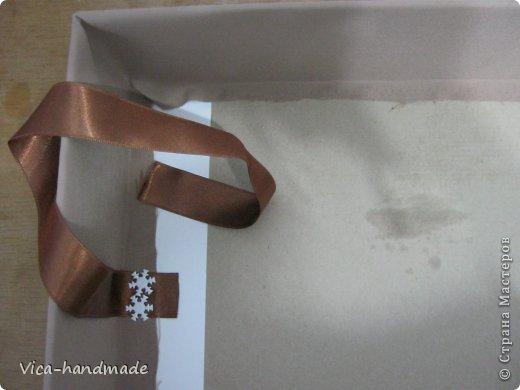 Декор предметов Мастер-класс День рождения Аппликация МК Как обтянуть коробку тканью Два варианта Бумага Картон Ленты Ткань фото 46