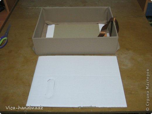 Декор предметов Мастер-класс День рождения Аппликация МК Как обтянуть коробку тканью Два варианта Бумага Картон Ленты Ткань фото 47