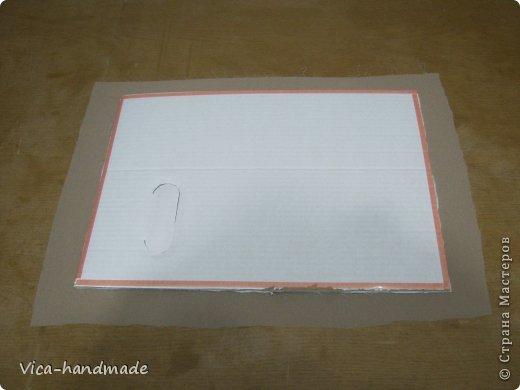 Декор предметов Мастер-класс День рождения Аппликация МК Как обтянуть коробку тканью Два варианта Бумага Картон Ленты Ткань фото 49