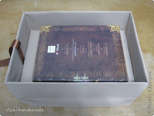 Декор предметов Мастер-класс День рождения Аппликация МК Как обтянуть коробку тканью Два варианта Бумага Картон Ленты Ткань фото 52