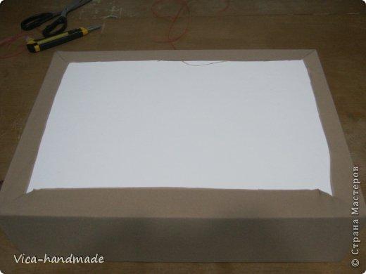 Декор предметов Мастер-класс День рождения Аппликация МК Как обтянуть коробку тканью Два варианта Бумага Картон Ленты Ткань фото 56