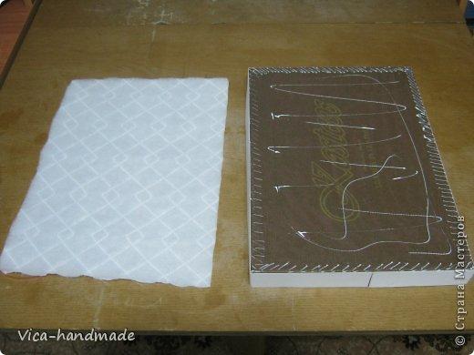 Декор предметов Мастер-класс День рождения Аппликация МК Как обтянуть коробку тканью Два варианта Бумага Картон Ленты Ткань фото 62