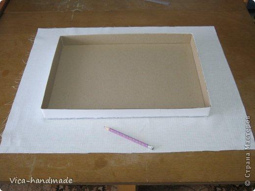 Декор предметов Мастер-класс День рождения Аппликация МК Как обтянуть коробку тканью Два варианта Бумага Картон Ленты Ткань фото 64
