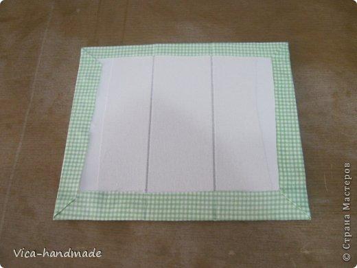 Декор предметов Мастер-класс День рождения Аппликация МК Как обтянуть коробку тканью Два варианта Бумага Картон Ленты Ткань фото 103