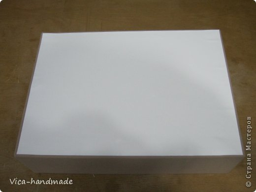 Декор предметов Мастер-класс День рождения Аппликация МК Как обтянуть коробку тканью Два варианта Бумага Картон Ленты Ткань фото 60