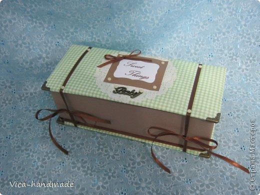 Декор предметов Мастер-класс День рождения Аппликация МК Как обтянуть коробку тканью Два варианта Бумага Картон Ленты Ткань фото 95