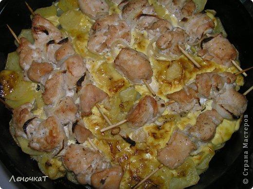 Кулинария Мастер-класс Рецепт кулинарный Шашлычок на картошечке Продукты пищевые фото 12