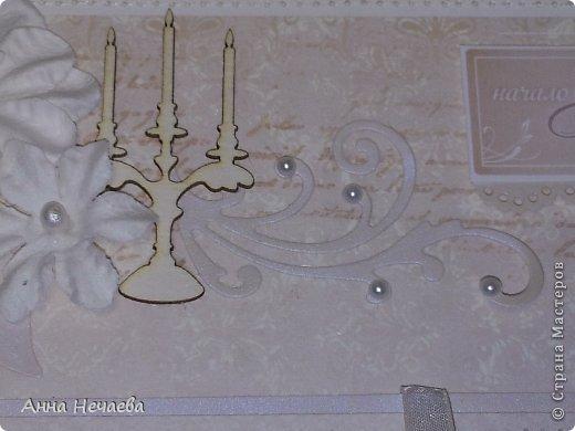Декор предметов Свадьба Ассамбляж Мой самый главный подарок Бумага Бусины Глина Клей Ленты фото 36