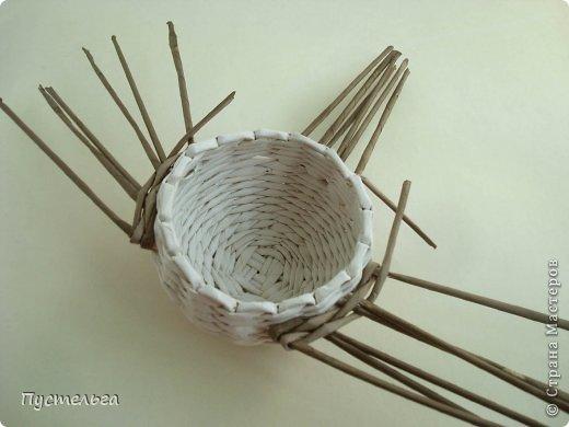 Мастер-класс Поделка изделие Плетение Сорока ворона Бумага Трубочки бумажные фото 8