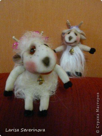 Куклы Шитьё МК по козочке Капрон фото 1
