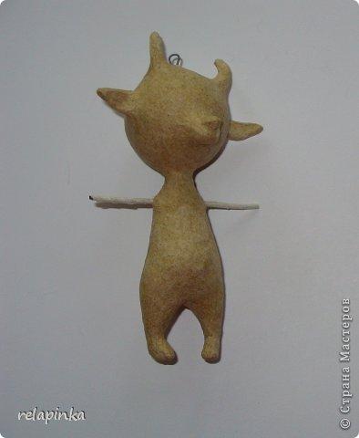Мастер-класс Новый год Папье-маше Игрушки на ёлку Бумага фото 6