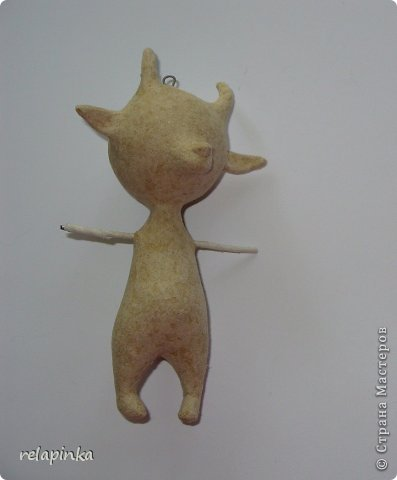 Мастер-класс Новый год Папье-маше Игрушки на ёлку Бумага фото 7