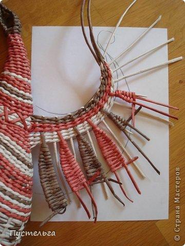 Мастер-класс Поделка изделие Плетение Пташечка Бумага Трубочки бумажные фото 14