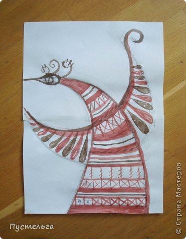 Мастер-класс Поделка изделие Плетение Пташечка Бумага Трубочки бумажные фото 3
