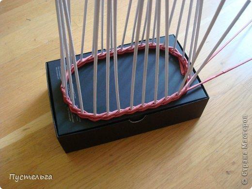 Мастер-класс Поделка изделие Плетение Пташечка Бумага Трубочки бумажные фото 4