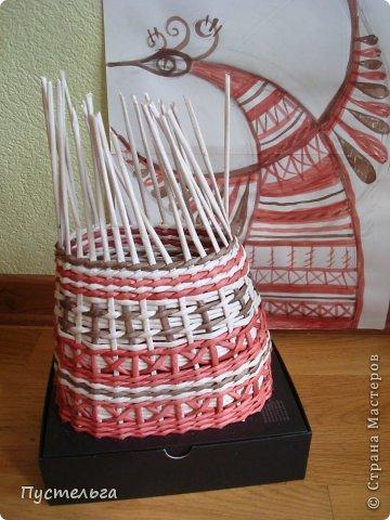 Мастер-класс Поделка изделие Плетение Пташечка Бумага Трубочки бумажные фото 6