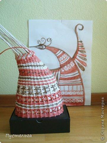 Мастер-класс Поделка изделие Плетение Пташечка Бумага Трубочки бумажные фото 7