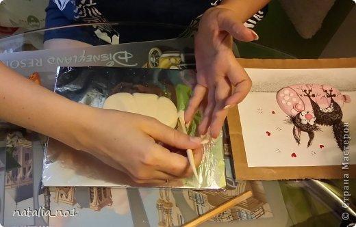 Мастер-класс Поделка изделие Лепка Кот на колбасе - Мастер класс Тесто соленое фото 10