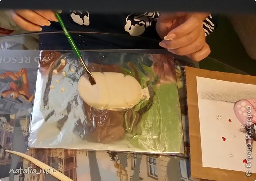 Мастер-класс Поделка изделие Лепка Кот на колбасе - Мастер класс Тесто соленое фото 15