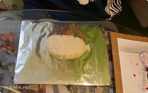 Мастер-класс Поделка изделие Лепка Кот на колбасе - Мастер класс Тесто соленое фото 17