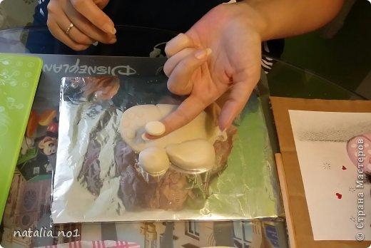 Мастер-класс Поделка изделие Лепка Кот на колбасе - Мастер класс Тесто соленое фото 23