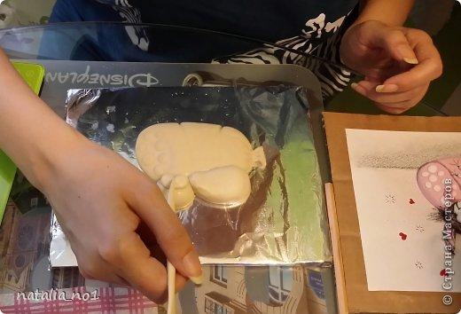 Мастер-класс Поделка изделие Лепка Кот на колбасе - Мастер класс Тесто соленое фото 25