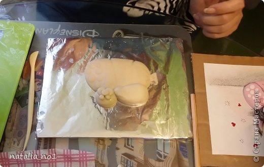 Мастер-класс Поделка изделие Лепка Кот на колбасе - Мастер класс Тесто соленое фото 26
