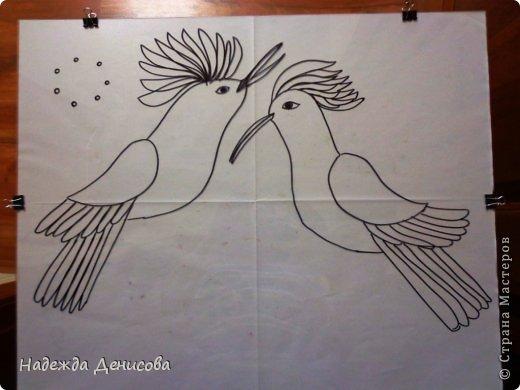 Картина панно рисунок Мастер-класс Аппликация из пластилина + обратная Пластилиновая рапсодия Пластилин фото 5