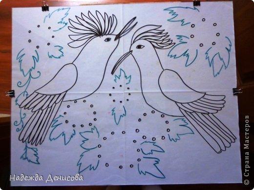 Картина панно рисунок Мастер-класс Аппликация из пластилина + обратная Пластилиновая рапсодия Пластилин фото 7
