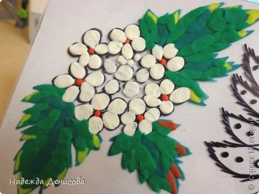 Картина панно рисунок Мастер-класс Аппликация из пластилина + обратная Пластилиновая рапсодия Пластилин фото 17