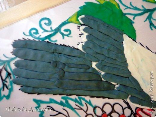 Картина панно рисунок Мастер-класс Аппликация из пластилина + обратная Пластилиновая рапсодия Пластилин фото 21