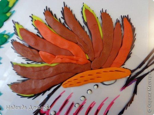 Картина панно рисунок Мастер-класс Аппликация из пластилина + обратная Пластилиновая рапсодия Пластилин фото 23